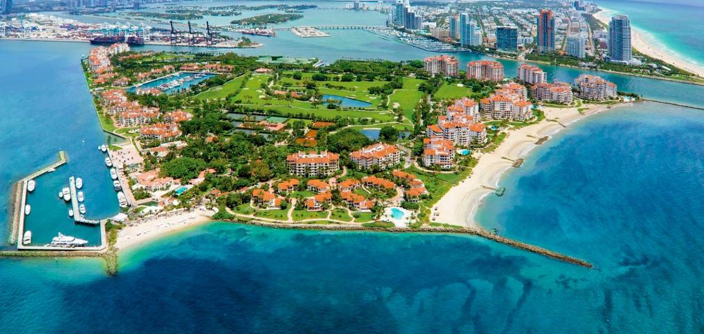 Luxury Condominium in Fisher Island