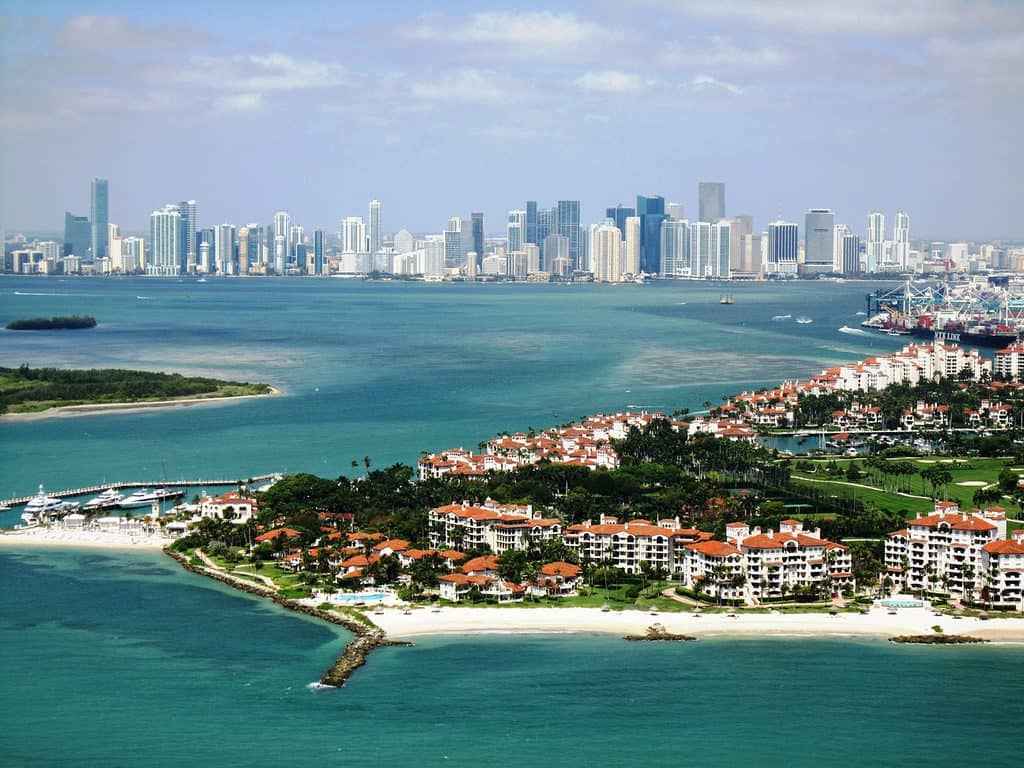 Luxury Waterfront Home in Fisher Island