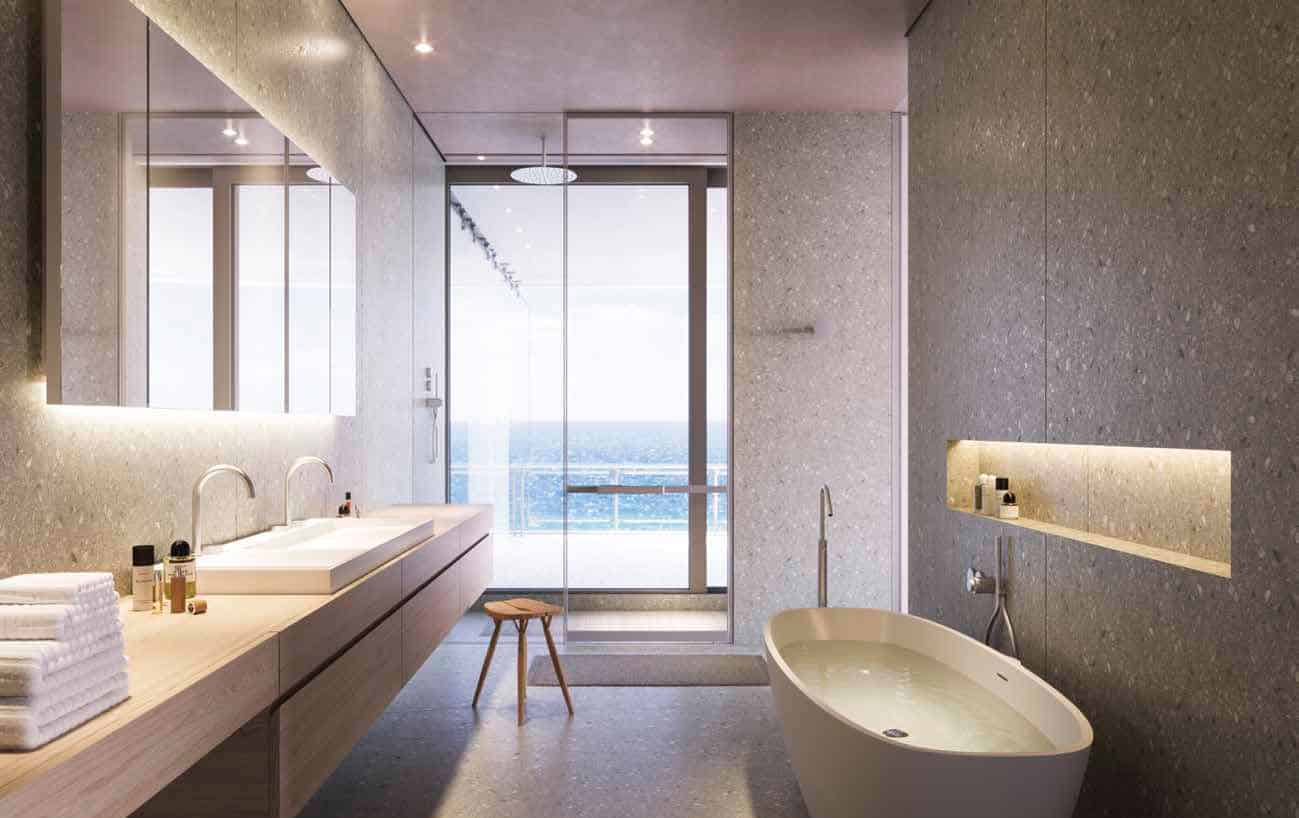 Eighty Seven Park Miami Beach - Bathrooms
