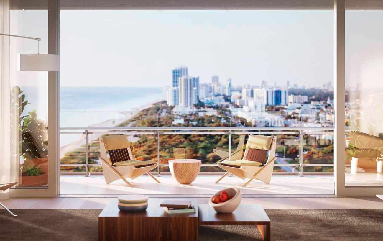Eighty Seven Park Miami Beach - Living Rooms