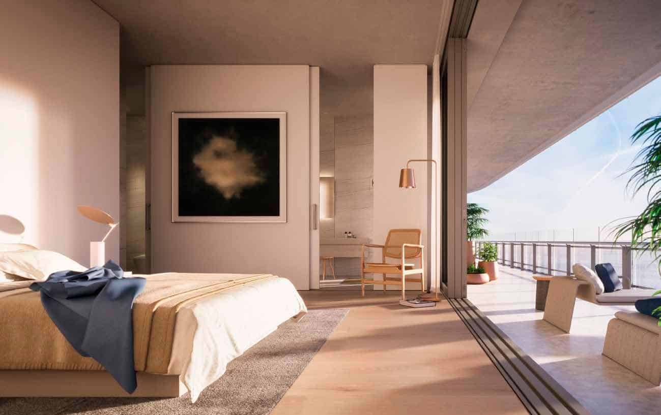Eighty Seven Park Miami Beach - Master Bedroom