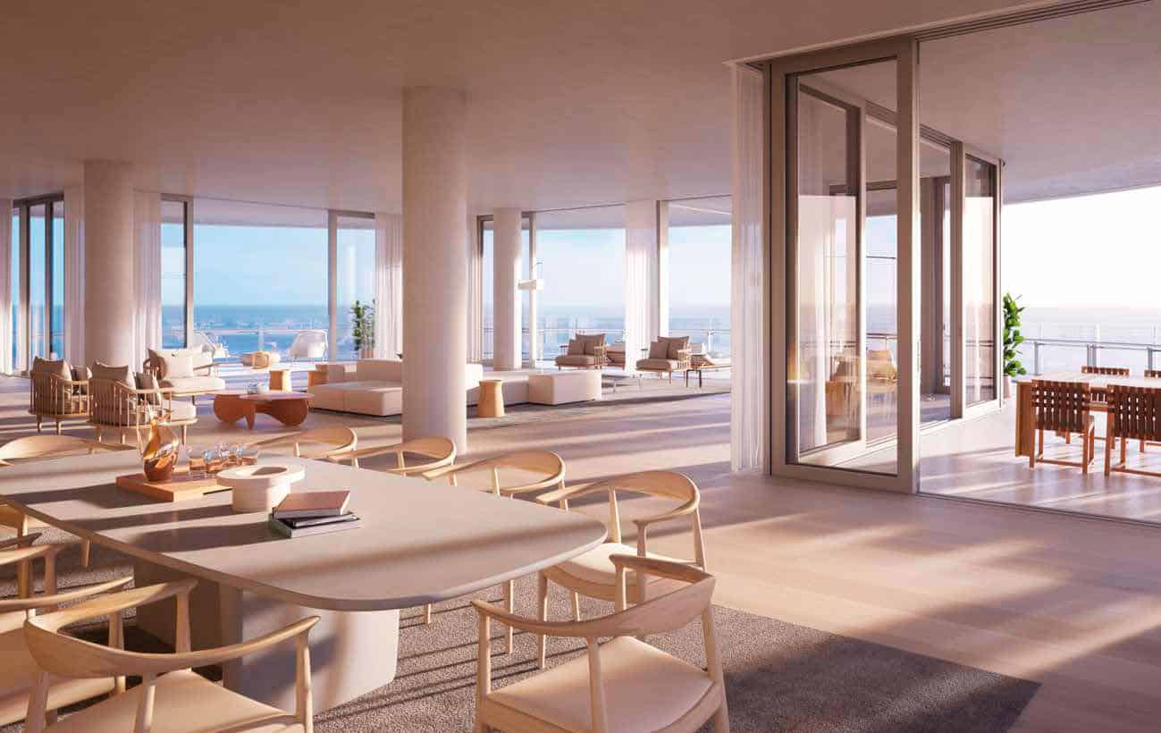Eighty Seven Park Miami Beach - Open-Floor-Plan