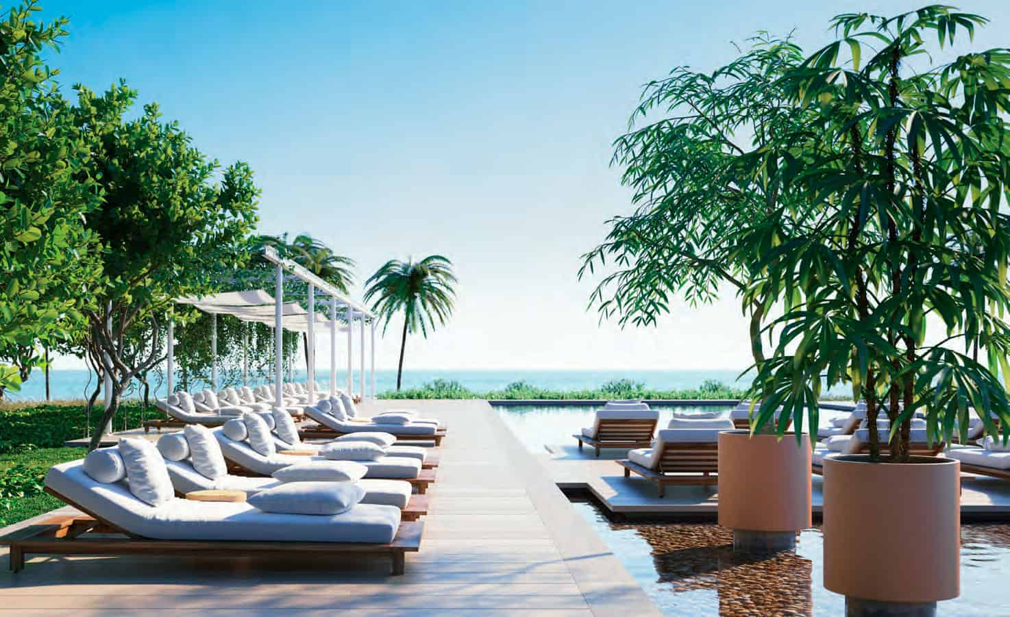 Eighty Seven Park Miami Beach - Pool and Cabanas 2