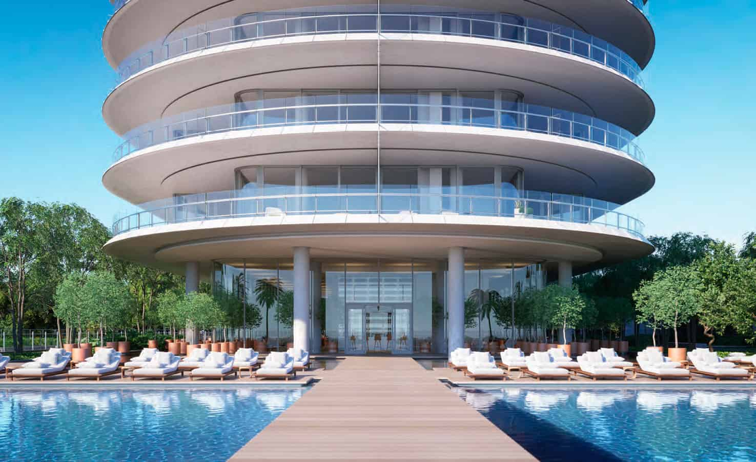 Eighty Seven Park Miami Beach - Pool and Cabanas 3