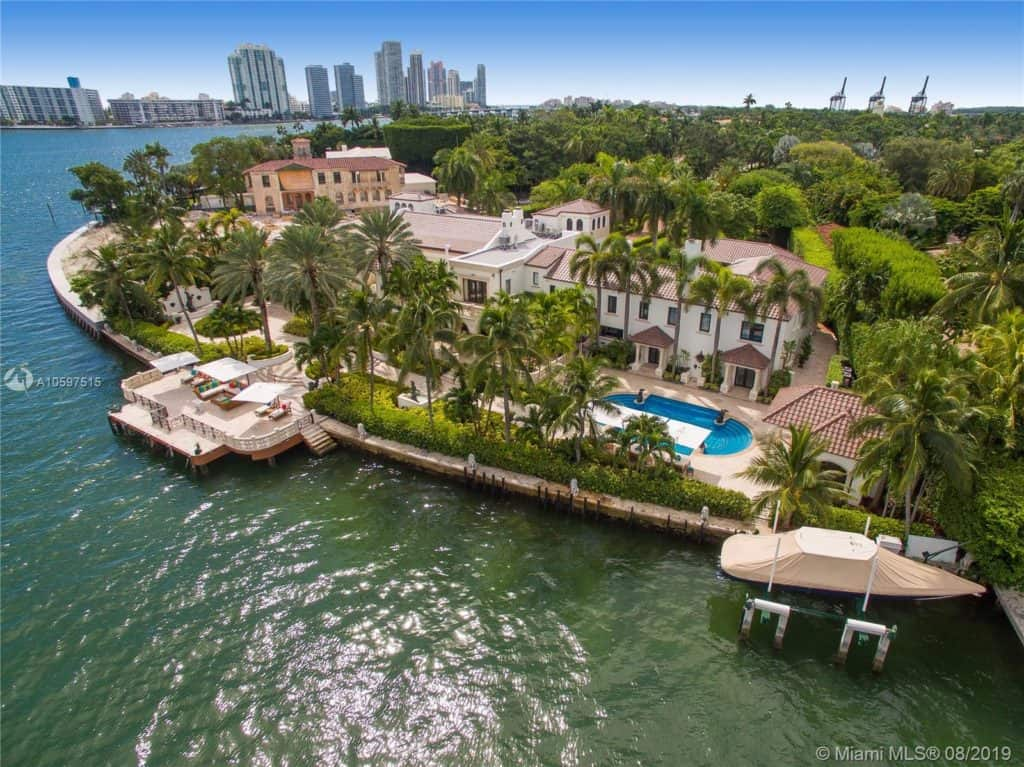 Luxury mansions for sale in Miami Beach: 46 Star Island Dr, Miami Beach, FL 33139