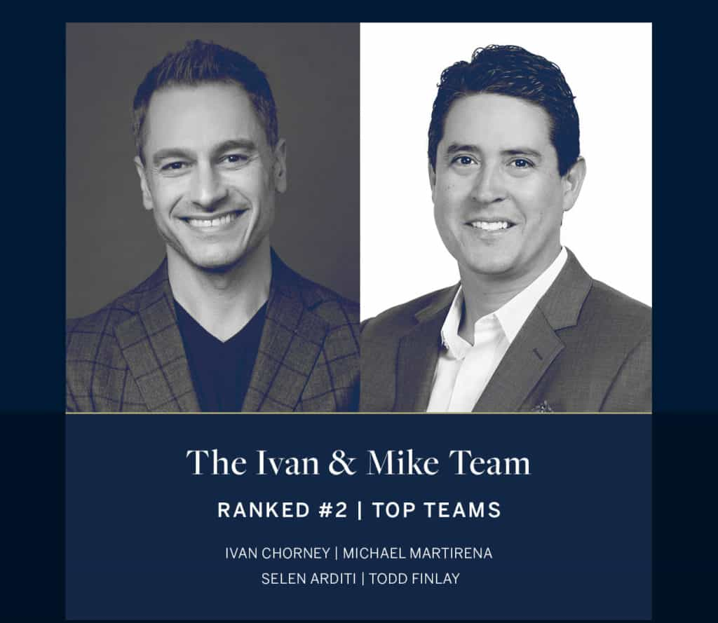 The Ivan and Mike Team Ranked # 2 Top Teams Sotheby's International Realty
