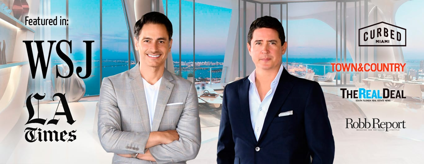 Ivan and Mike Luxury Real Estate Agents in Miami Beach