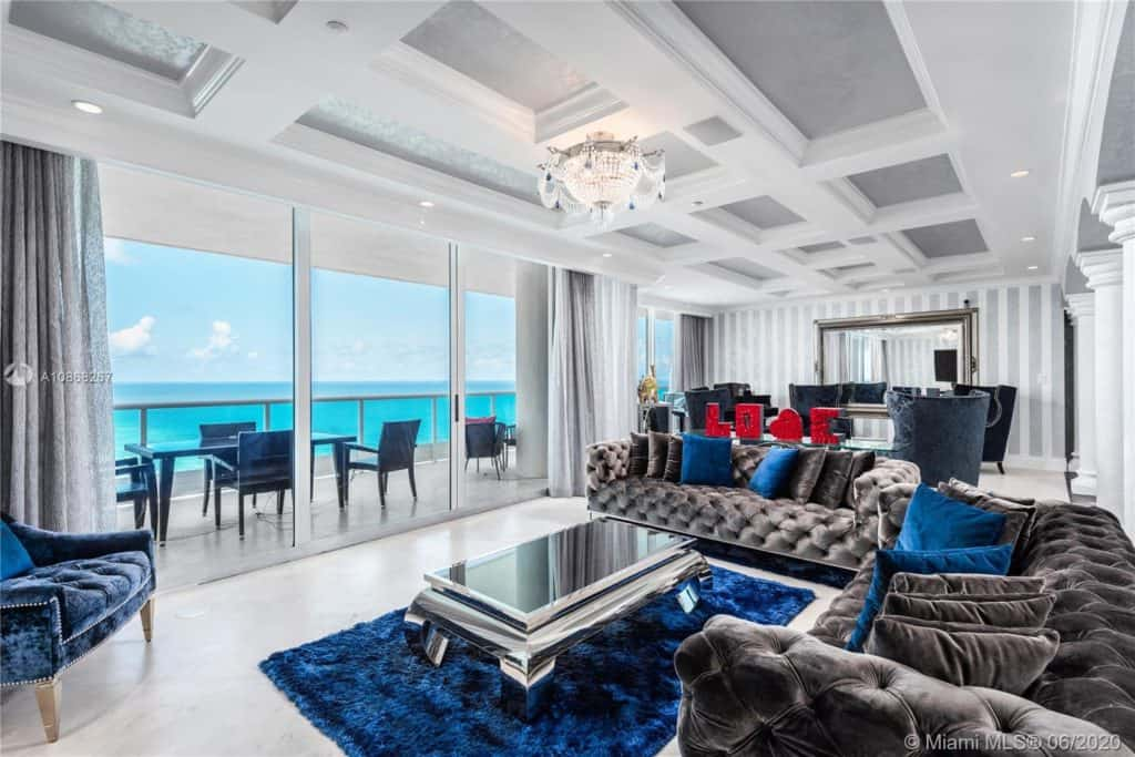 Miami Beach Oceanfront Penthouses: 5025 COLLINS AVE #PENTHOUSE, MIAMI BEACH, FL 33140