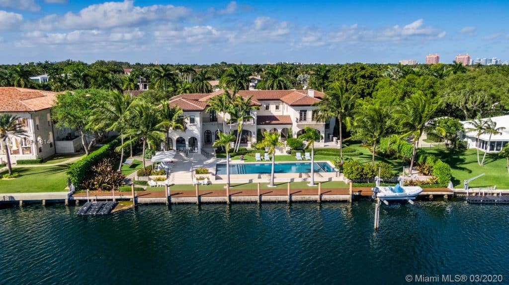 Coral Gables Waterfront Homes for sale - 500 ARVIDA PKWY, CORAL GABLES, FL 33156