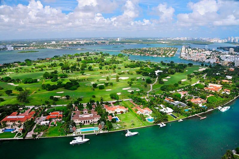 Indian Creek Island - Gated Communities in Miami Beach