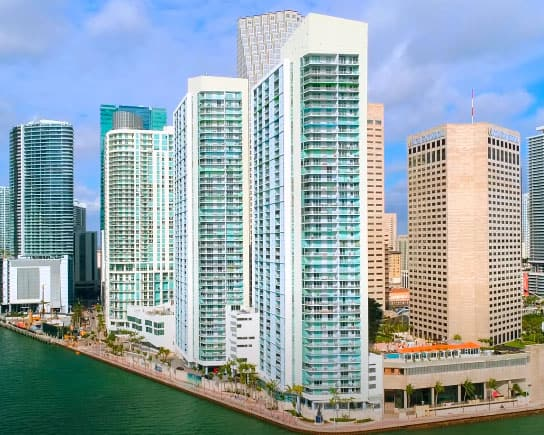One Miami West Tower condos for sale