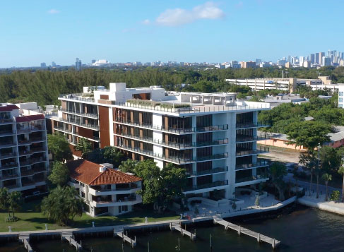 The Fairchild Coconut Grove condos for sale