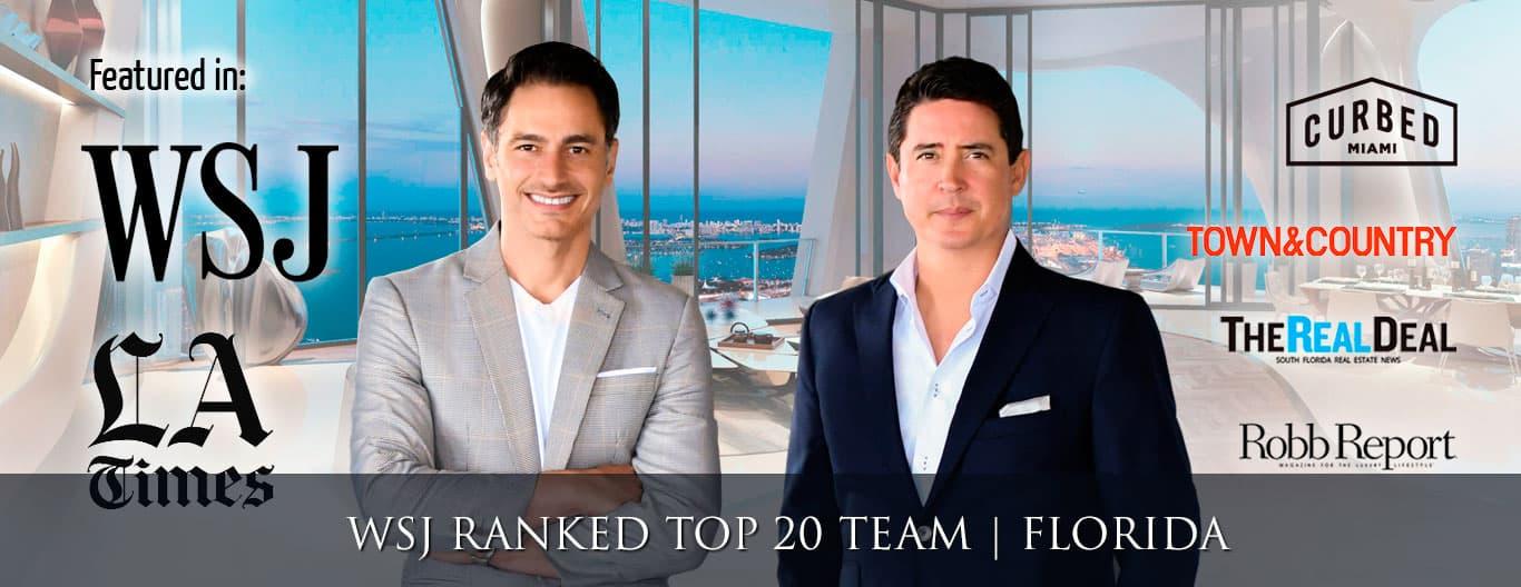 Ivan and Mike Best Miami Beach Realtors