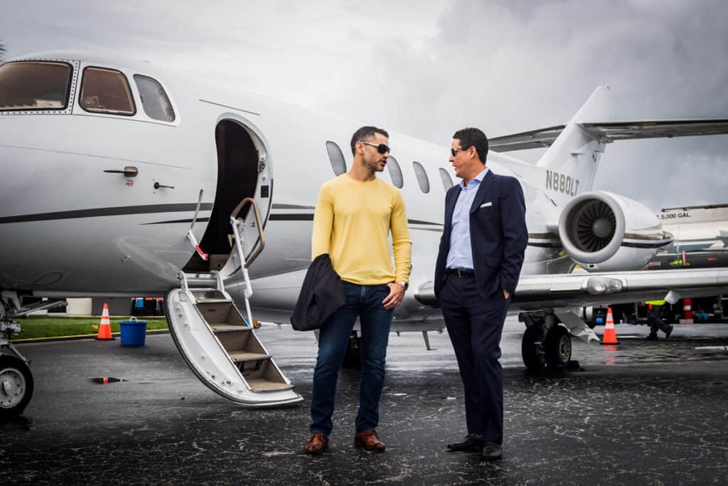 Mike and Ivan multi-million-dollar partnership with Vida Jets