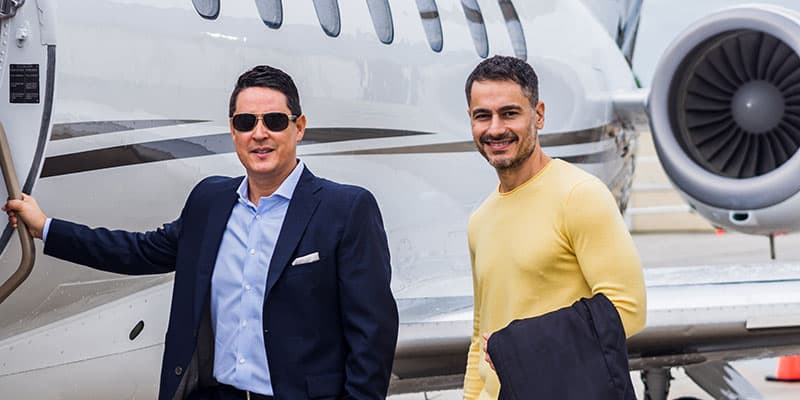 Vida Jets Partnership with Ivan and Mike