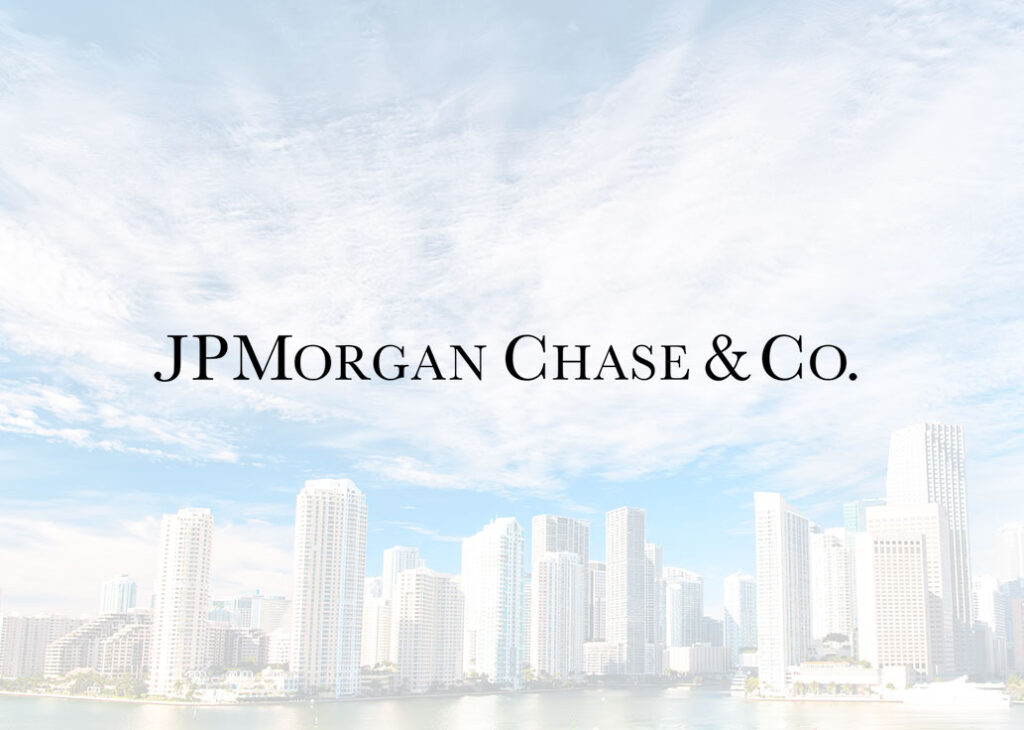 JPMorgan moving to Miami
