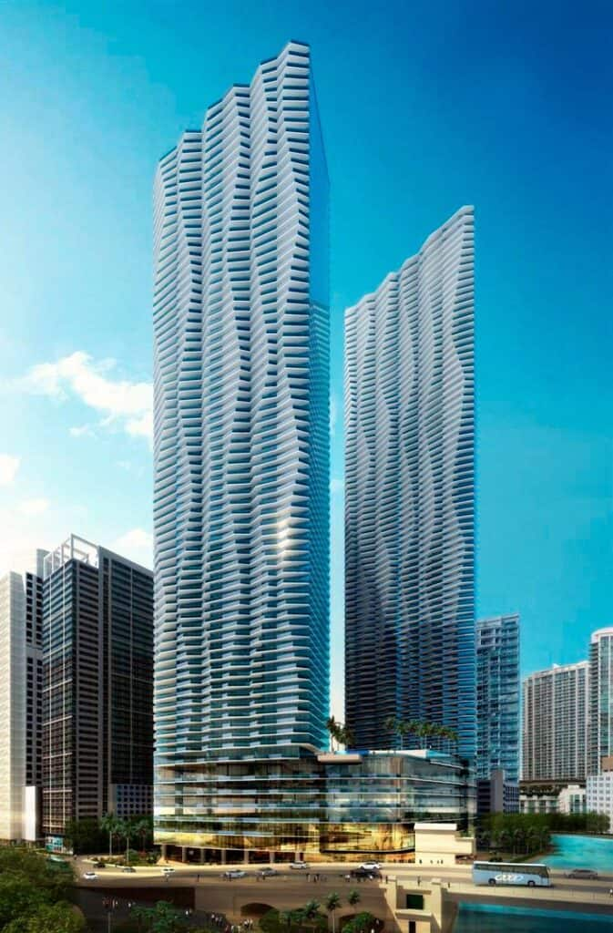 One Brickell Files For Construction Permit
