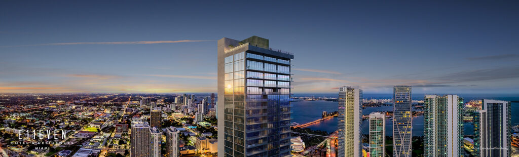 E11even Hotel and Residences, Park West District, Downtown Miami