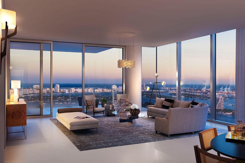 Missoni Baia Living Room