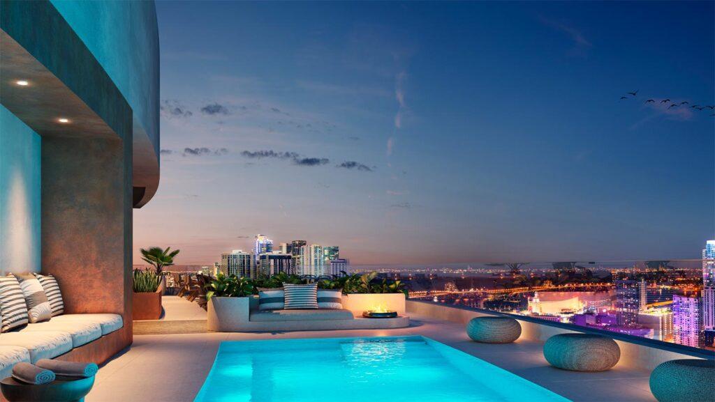 The-District-Downtown-Miami-Pool
